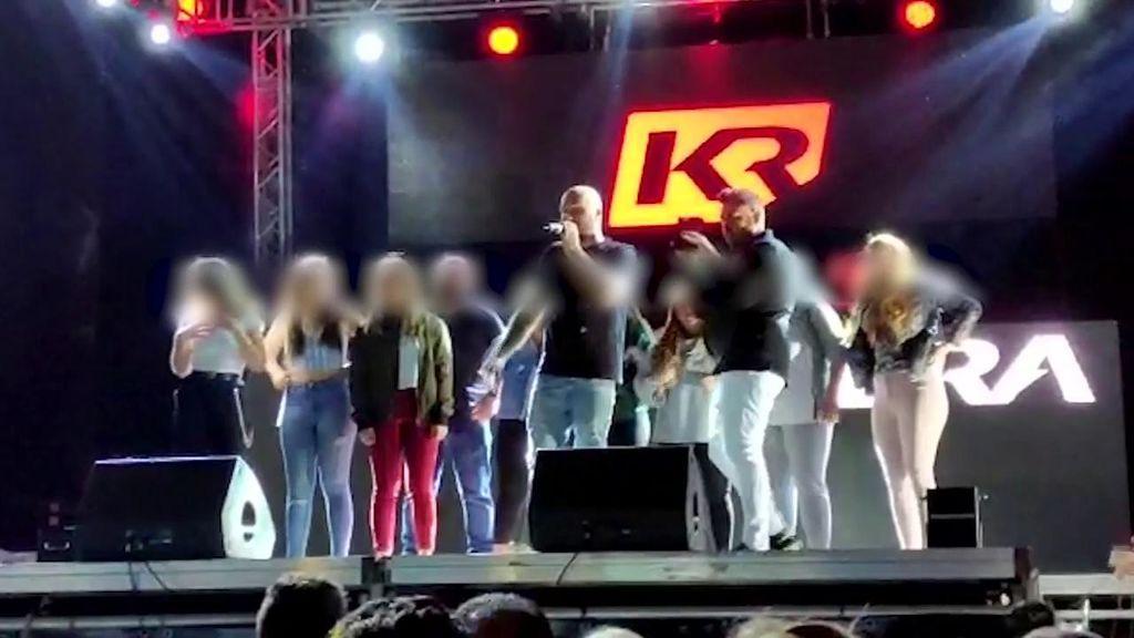 Kiko Rivera tiene problemas con el playback y pide disculpas a sus fans