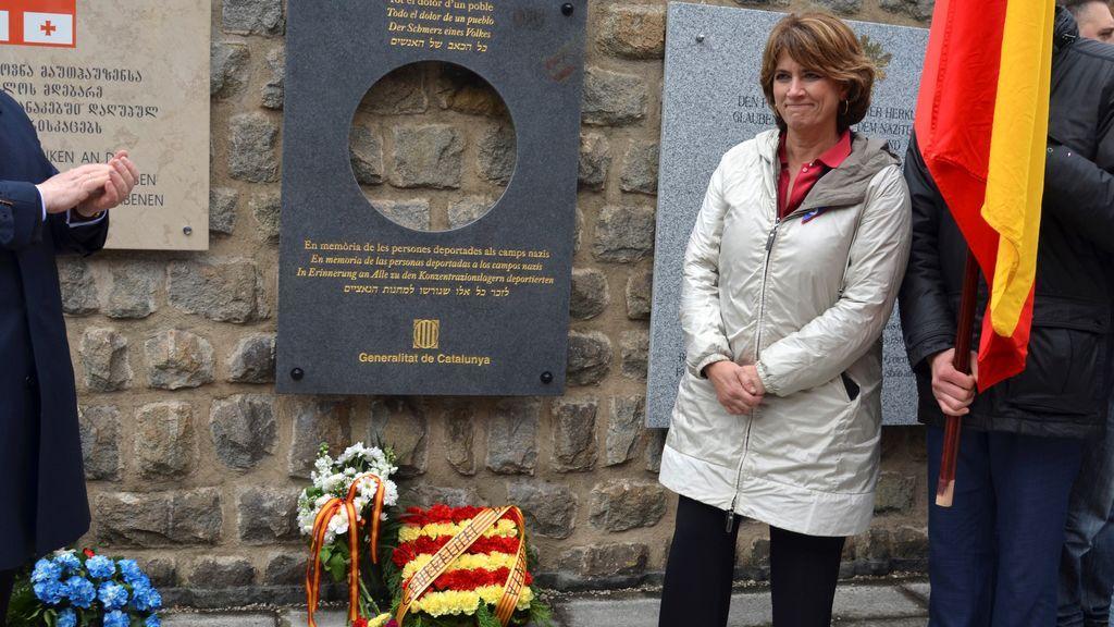 Delgado abandona un homenaje a víctimas del nazismo en Mauthausen