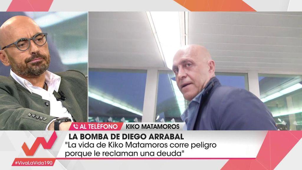Kiko Matamoros desmiente la comprometida información de Diego Arrabal