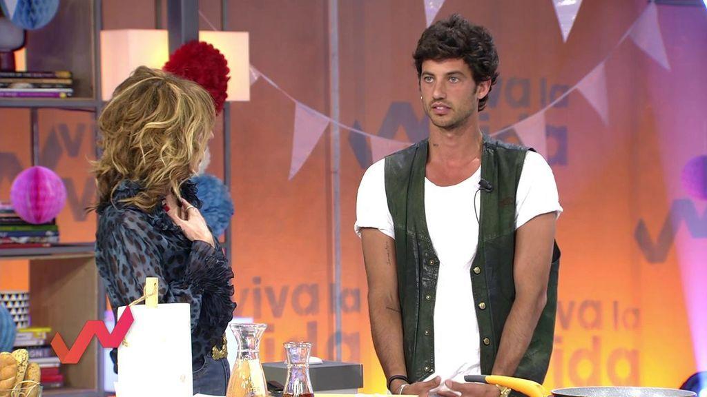 Jorge Brazález, molesto con Emma García al preguntarle por su boda con Miri