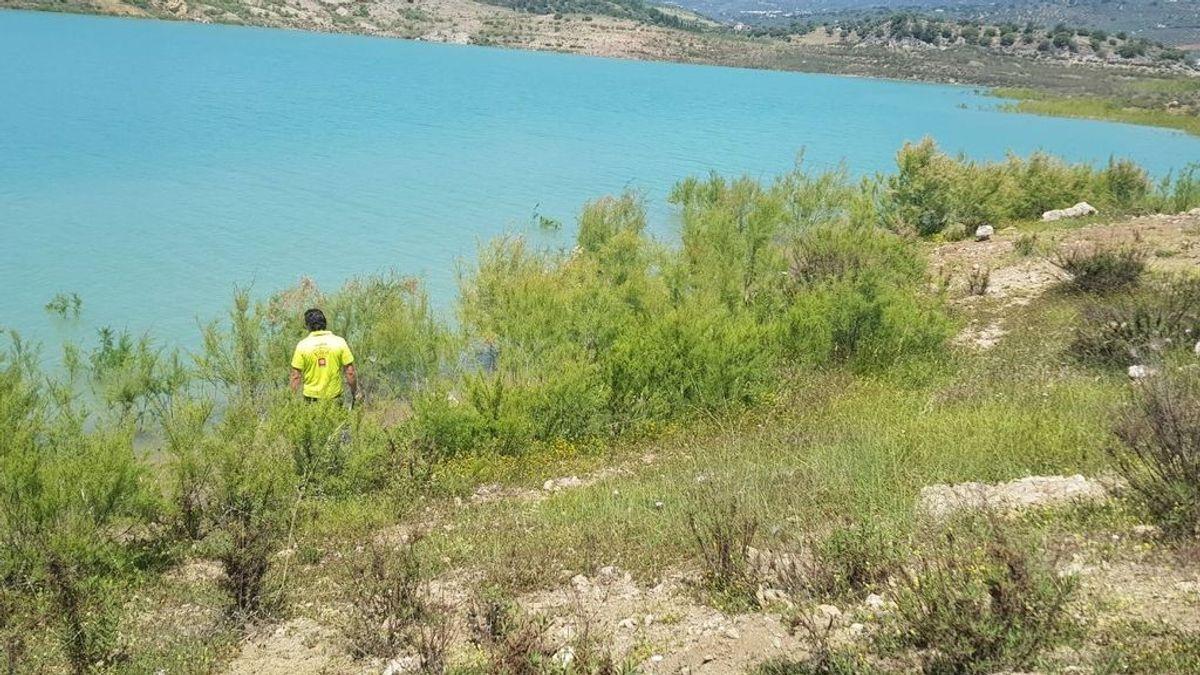 Encuentran en buen estado de salud a la mujer desaparecida en el pantano de La Viñuela