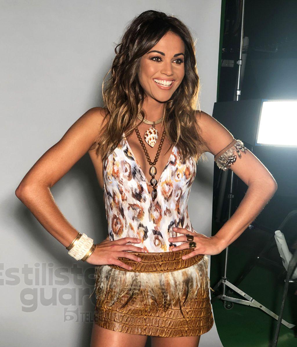 El look de Lara Álvarez