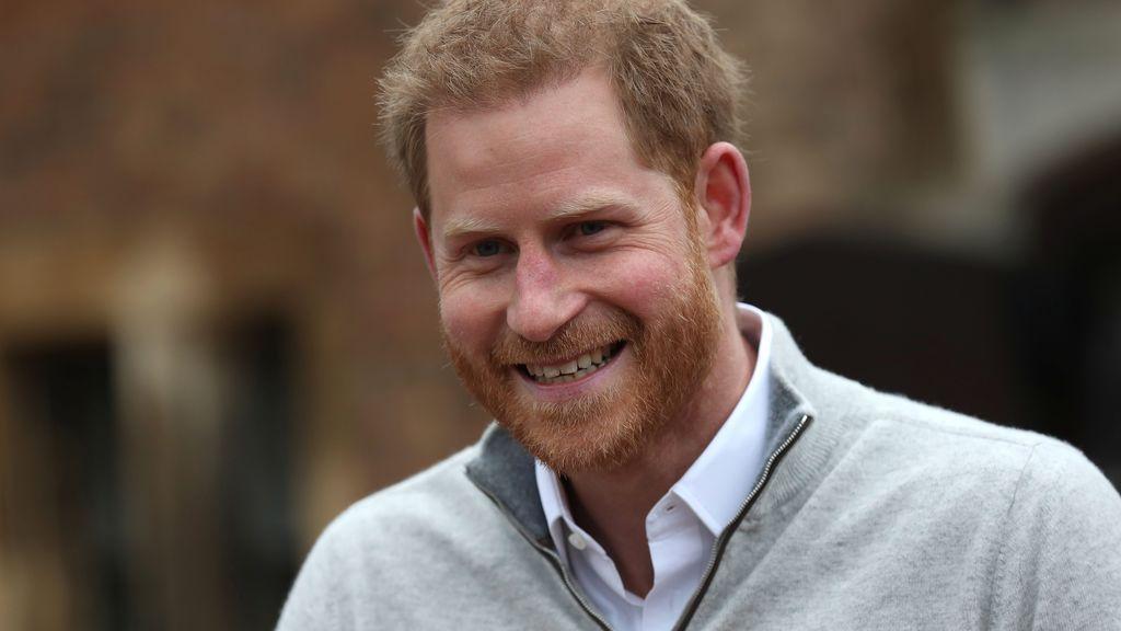 El Príncipe Harry se emociona