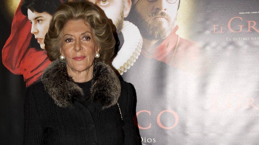 Fallece a los 88 años Pitita Ridruejo, una de las grandes damas de la 'jet set' madrileña