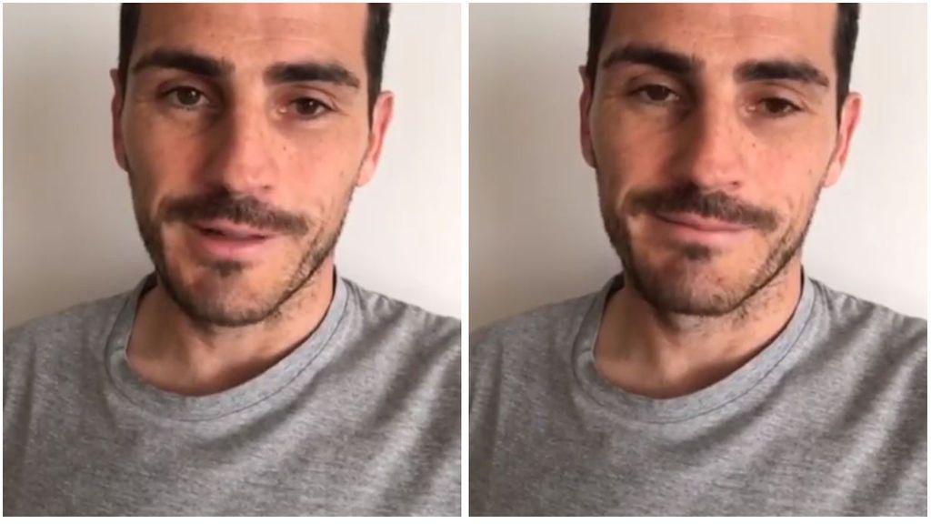 """""""Gracias, gracias y mil veces gracias"""", el mensaje de Casillas en Instagram tras salir del hospital"""