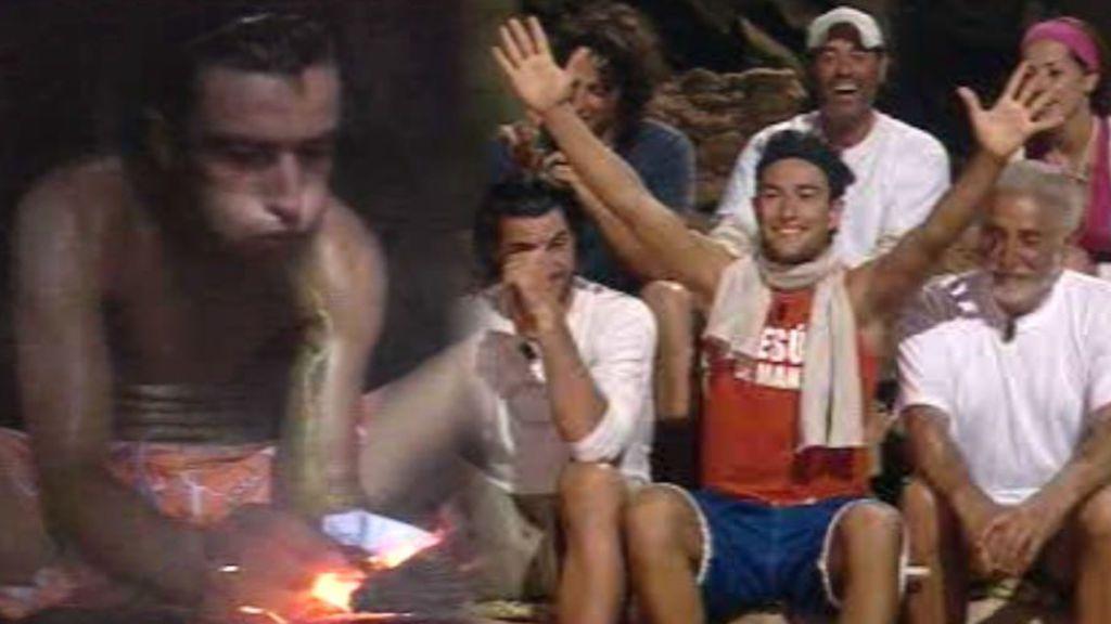 La leña ardió en 2006: recordamos al primer famoso que hizo fuego en 'Supervivientes'