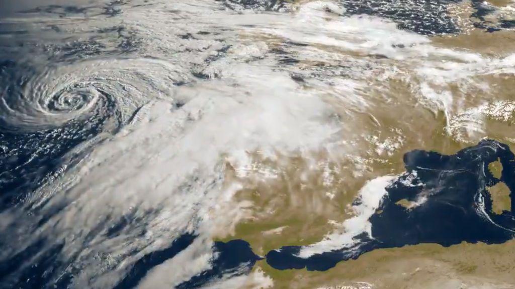 Imponente borrasca perfecta en el Atlántico: cómo nos va a afectar