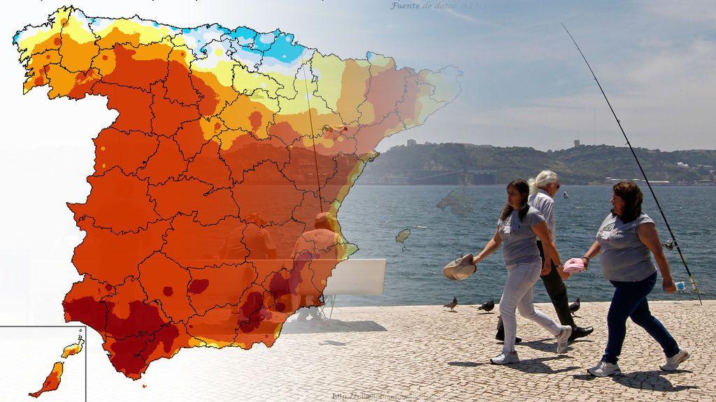 Más de 30ºC y subiendo: llegan siete días seguidos de calorazo en el sur