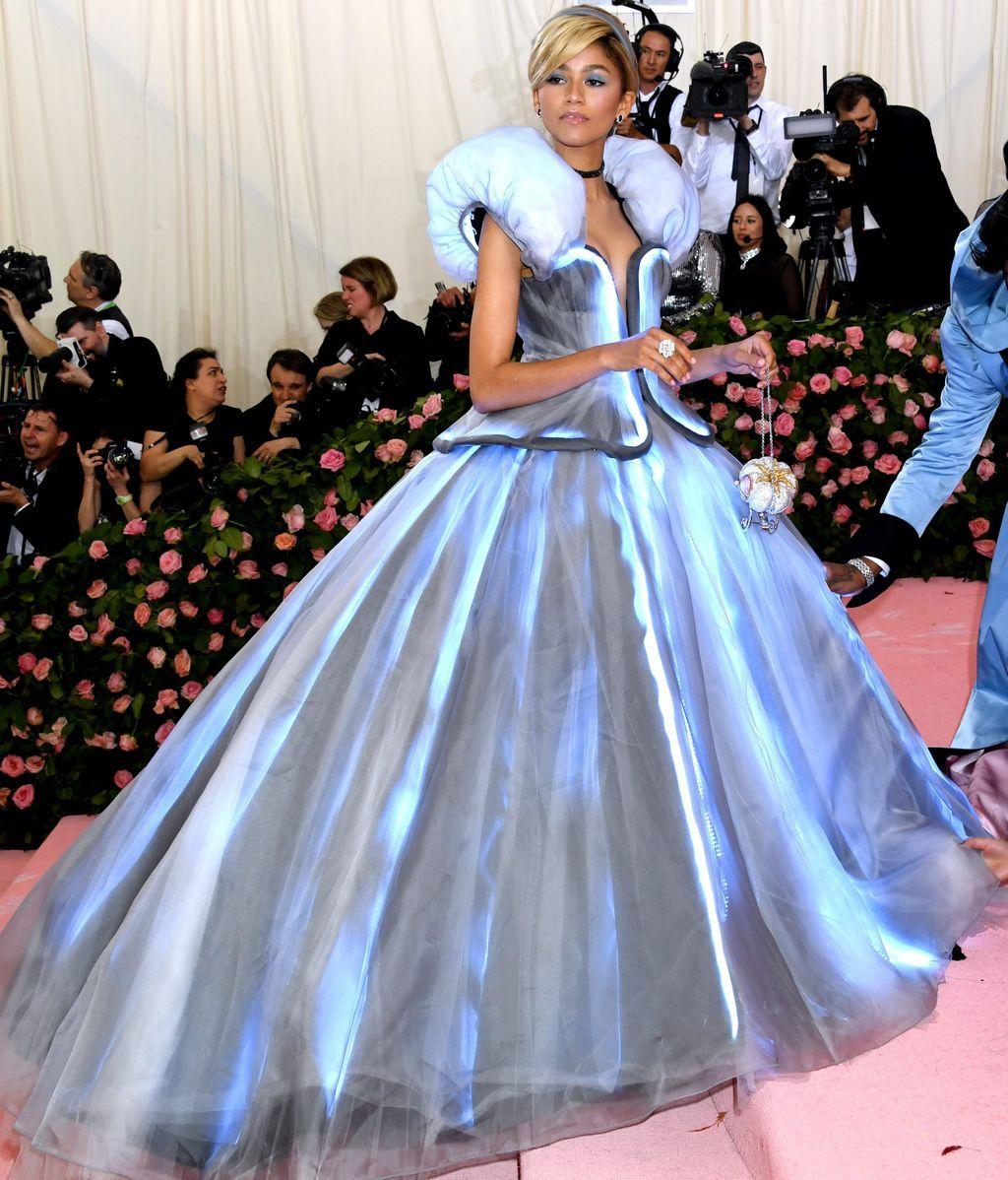 Zendaya, vestida de Cenicienta en la Gala MET