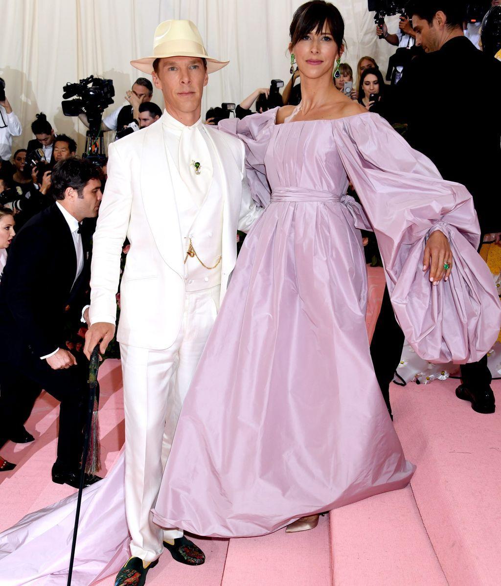 Muy teatrales, el matrimonio formado por Benedict Cumberbatch y Sophie Hunter