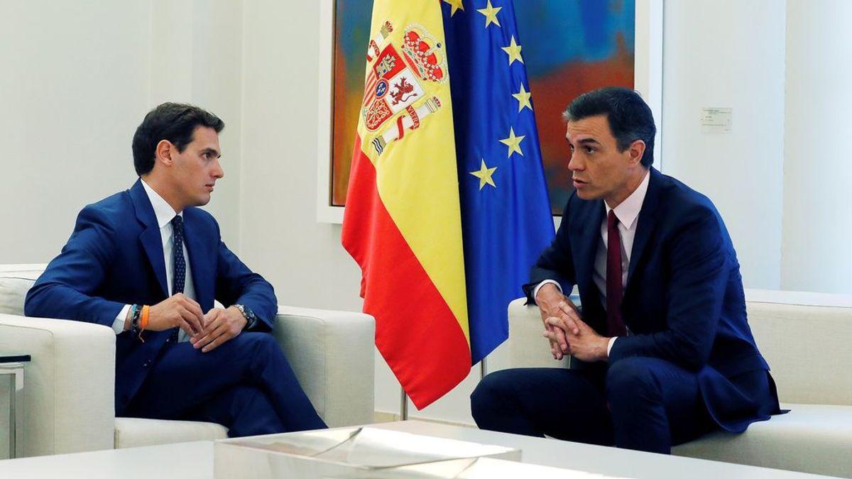 Sánchez abre hoy su segunda jornada de contactos con Rivera y la cierra por la tarde con Iglesias