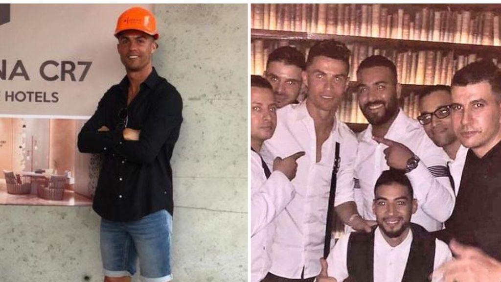 Cristiano Ronaldo vuelve a Marruecos para supervisar uno de sus negocios