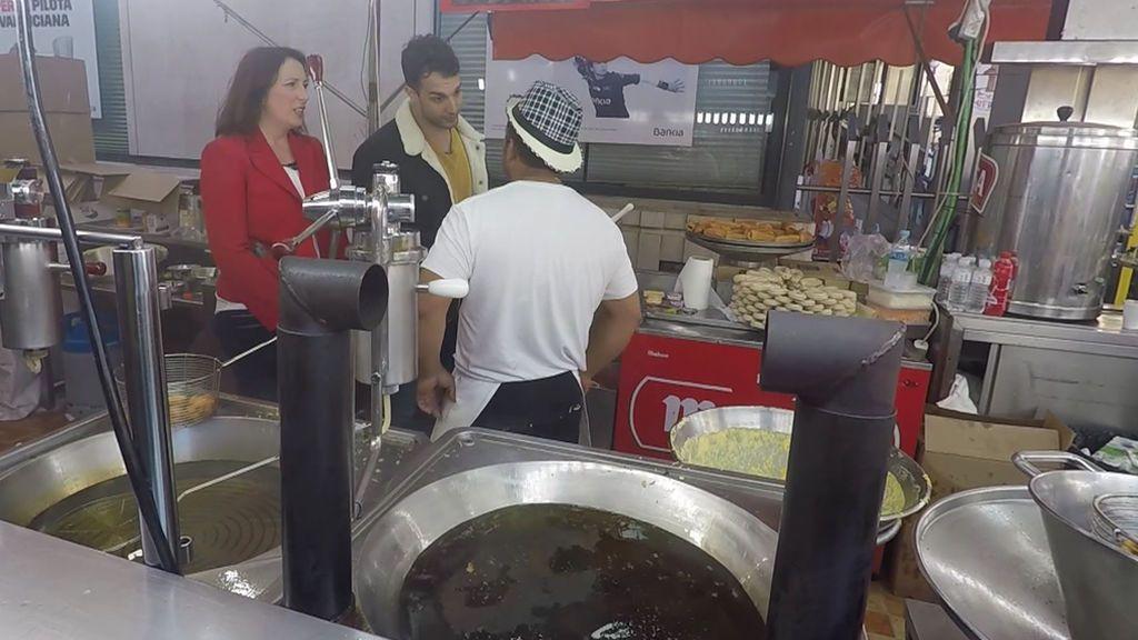 'En el punto de mira' encuentra comida contaminada de salmonela durante Las Fallas