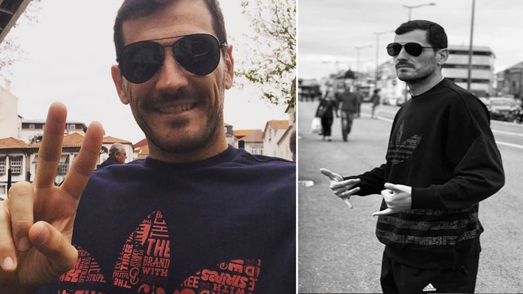 """""""Siempre sale el sol"""", Iker Casillas presume de sonrisa mientras sigue con su recuperación"""