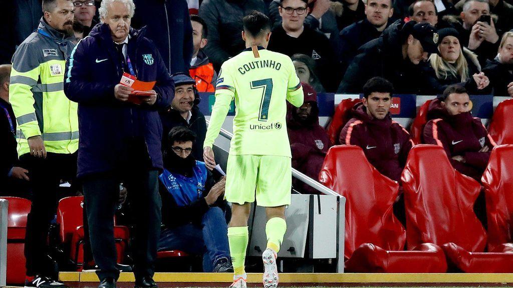 Los señalados de la debacle del Barcelona en Anfield: De los errores de Jordi Alba, a la falta de puntería de Suárez