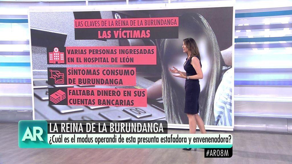 Así era el 'modus operandi' de la joven detenida por drogar y robar a siete víctimas en León