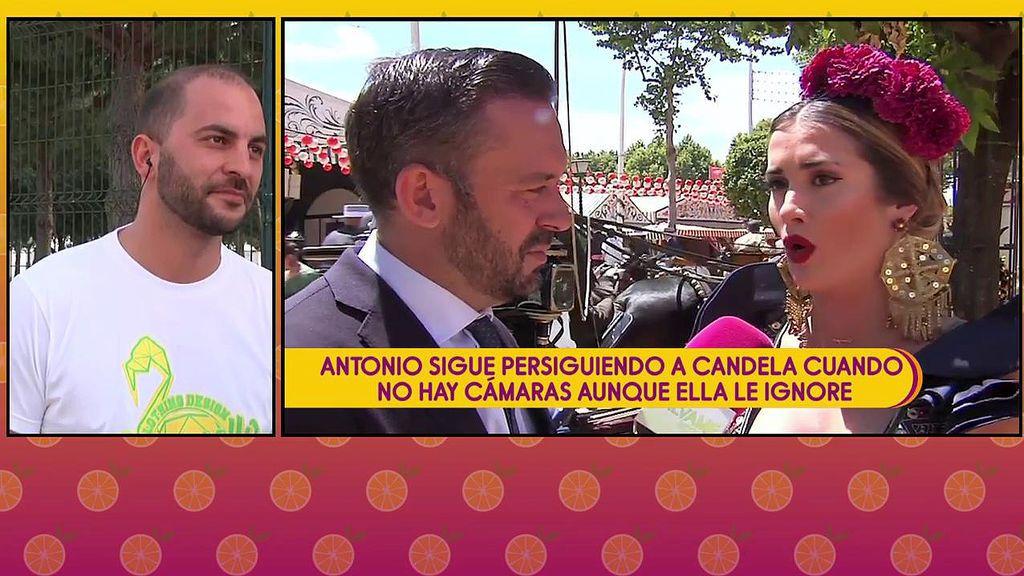 Candela sigue su caza de brujas contra su expareja Antonio Tejado