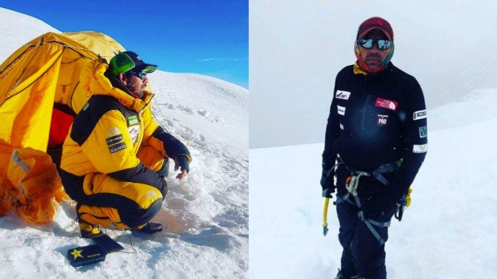 Aparece muerto el montañero Richard Hidalgo dentro de su tienda cuando se disponía a ascender sin oxigeno al Himalaya