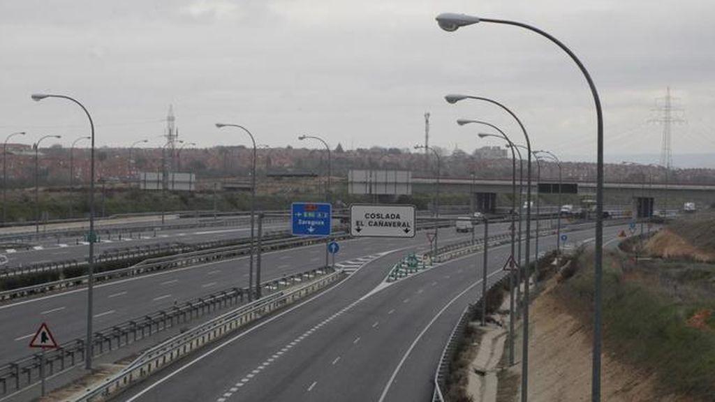 Atropellada de gravedad una mujer en plena autovía en Coslada (Madrid)