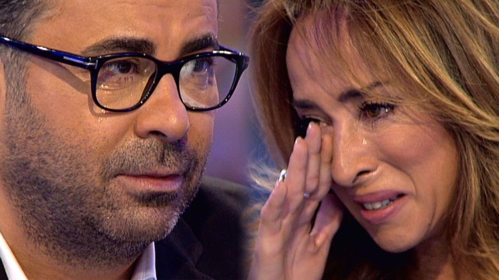 La sorpresa más emotiva de Jorge Javier Vázquez a María Patiño