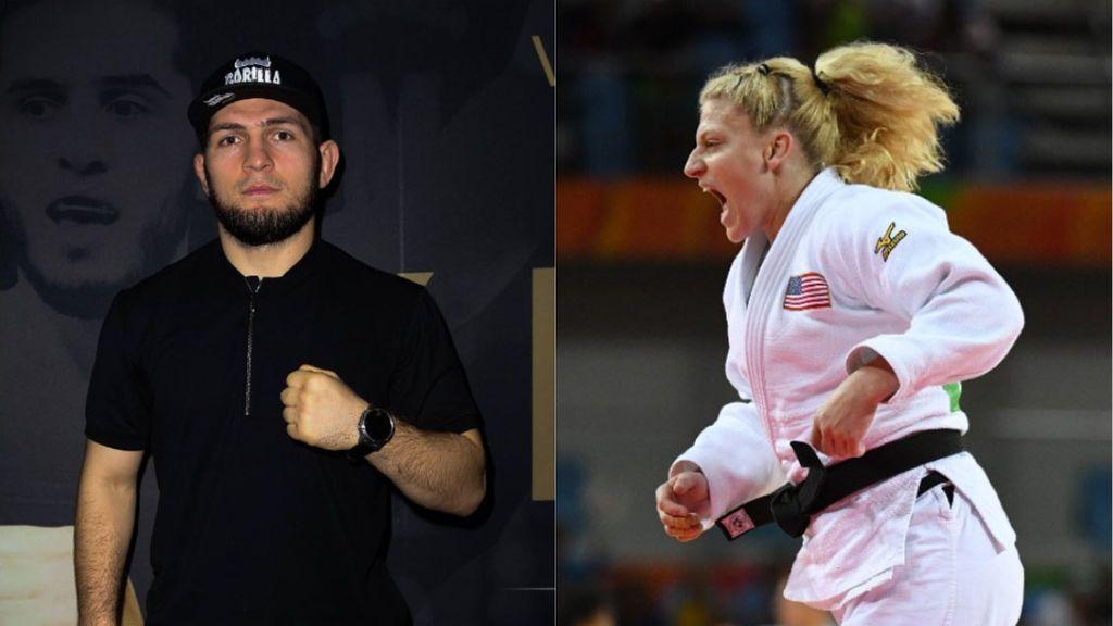 """La judoca Kayla Harrison reta a un combate a Khabib: """"Estoy cien por cien segura de ganarle"""""""