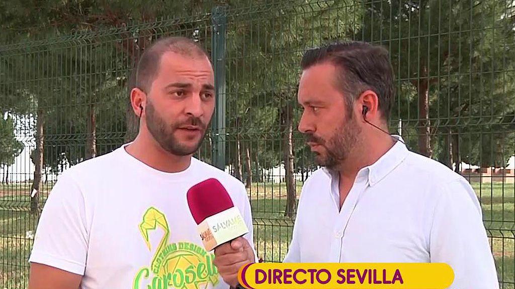 Antonio Tejado niega que esté provocando a su exnovia, Candela