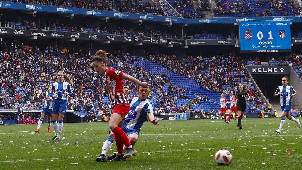 Final de la Liga Iberdrola entre la Real Sociedad y el Atlético de Madrid