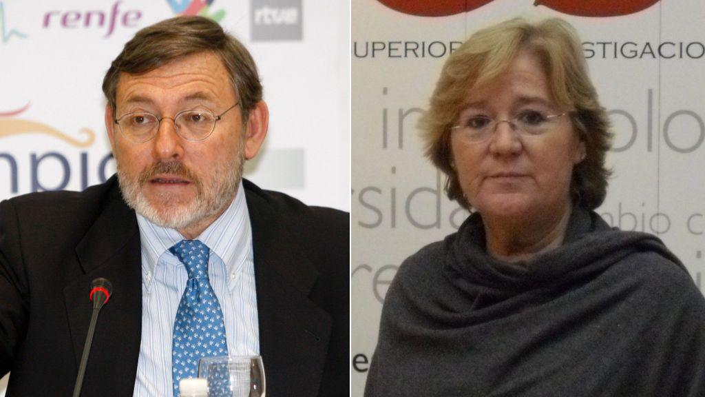 Jaime Lissavetzky y Pilar Tigeras