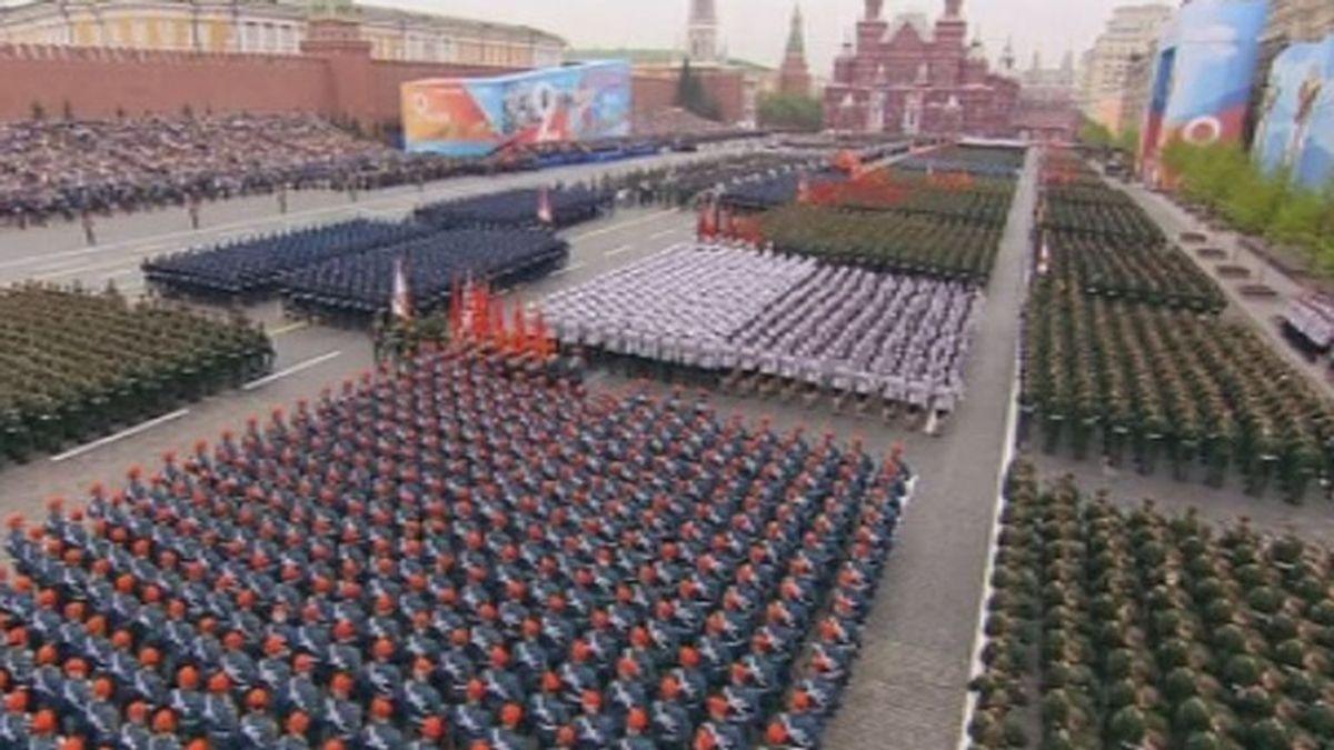 Rusia celebra el 74º aniversario de la victoria de la Unión Soviética en la Segunda Guerra Mundial