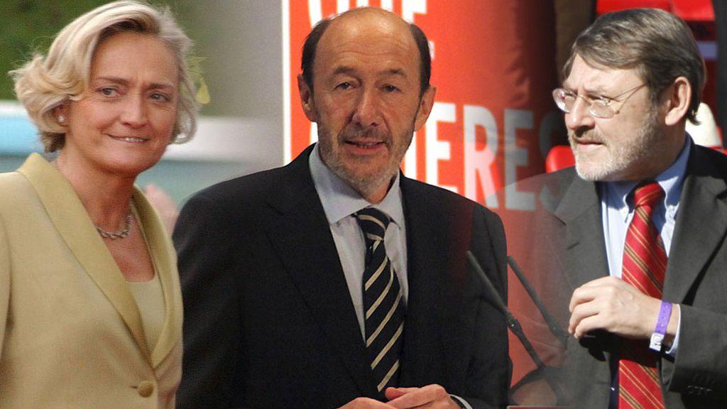 Su mujer, sus sobrinos y los Lissavetzky: el entorno íntimo de Alfredo Pérez Rubalcaba