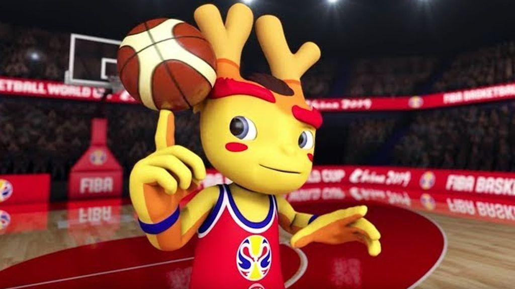 'Son of Dreams': La mascota de la Copa del Mundo de Baloncesto FIBA que podrá ver el futuro