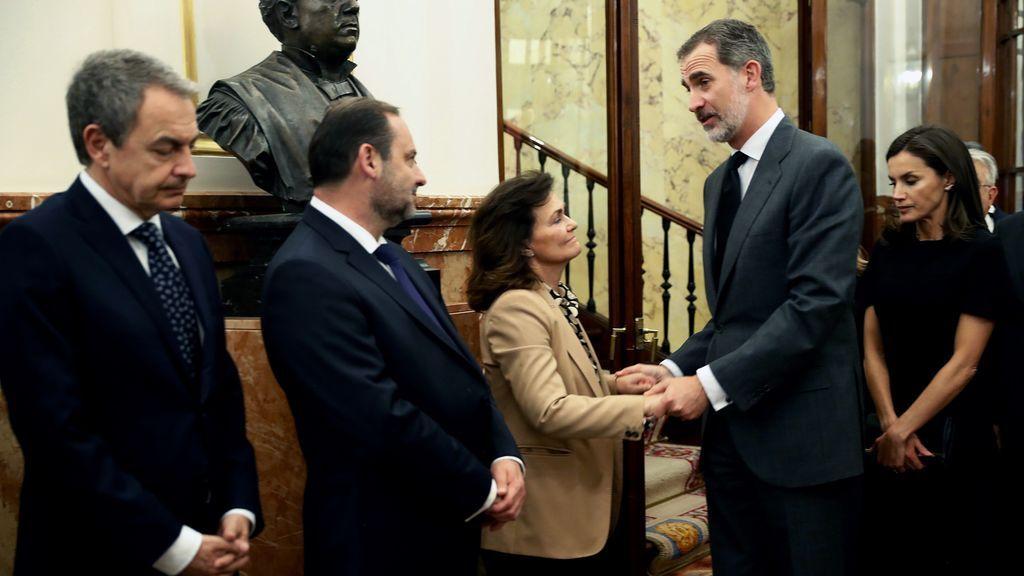 Último adiós a Rubalcaba en el Congreso de los Diputado