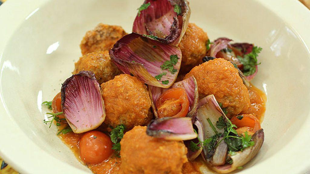 Robin Food prepara Albódigas 'Chium'
