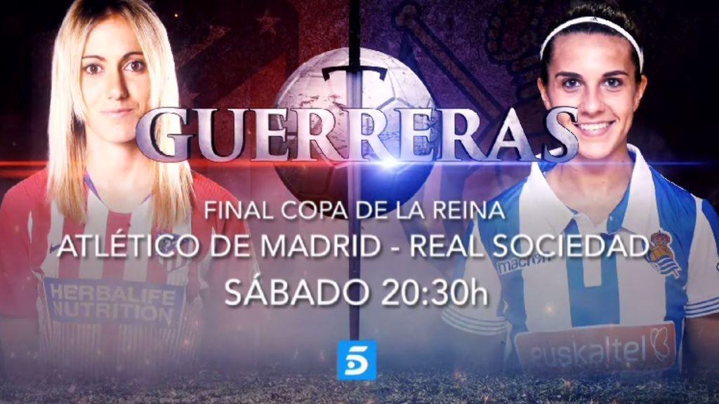 Haciendo historia: Telecinco retransmitirá la final de la Copa de la Reina de fútbol