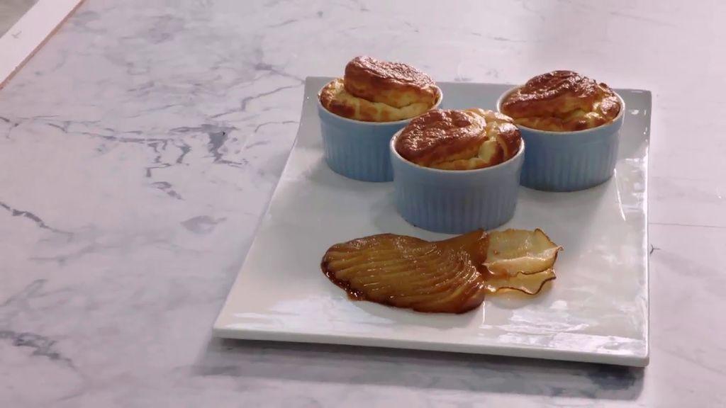 Soufflé de quesos: La apuesta de Steffana para la prueba semanal
