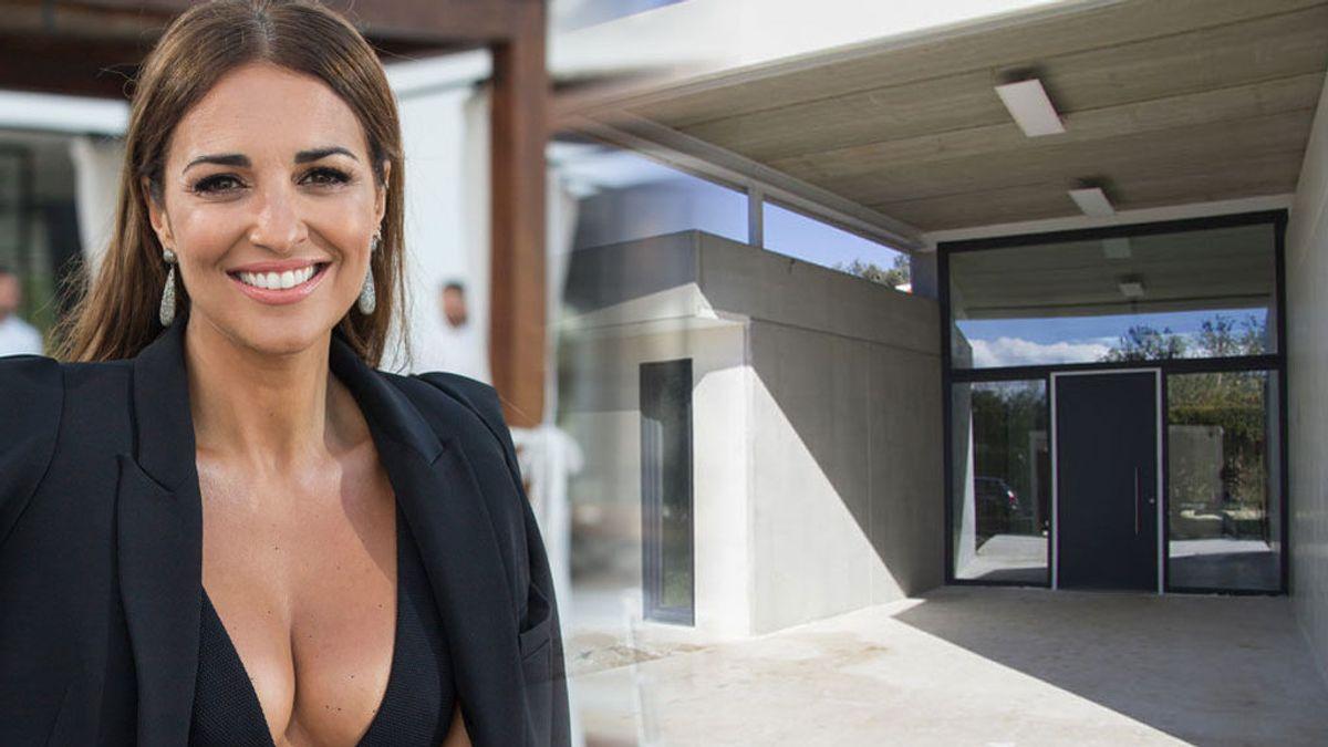 Paula Echevarría ya se ha mudado: todas las fotos de su espectacular nueva casa