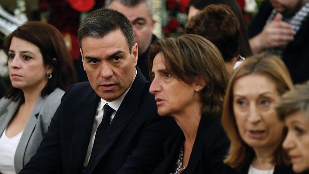 """Sánchez despide a Rubalcaba: """"Se entregó en cuerpo y alma para hacer un país mejor"""""""
