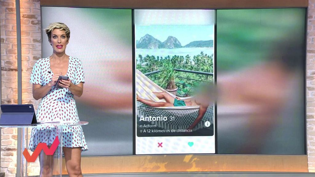 Elia se registra en una web de ligues: Hay 15 millones de solteros en España y la mitad usa estas apps