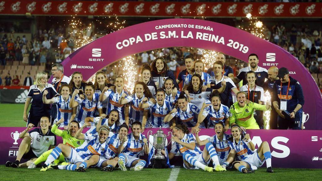 La final de la Copa de la Reina se convierte en el partido femenino más visto en la historia de la televisión