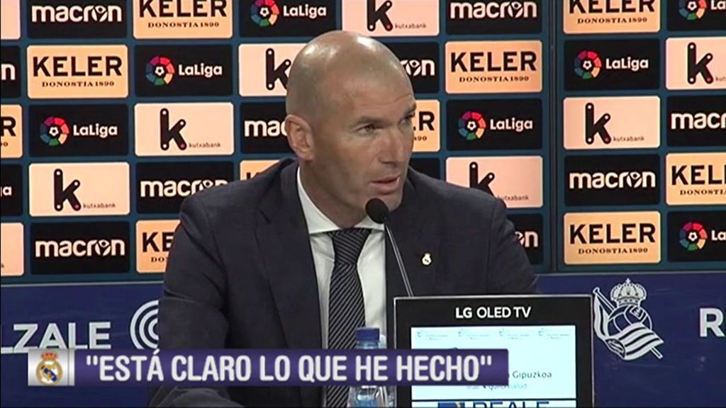 El enigmático mensaje de Zidane sobre el futuro de Bale en el Real Madrid
