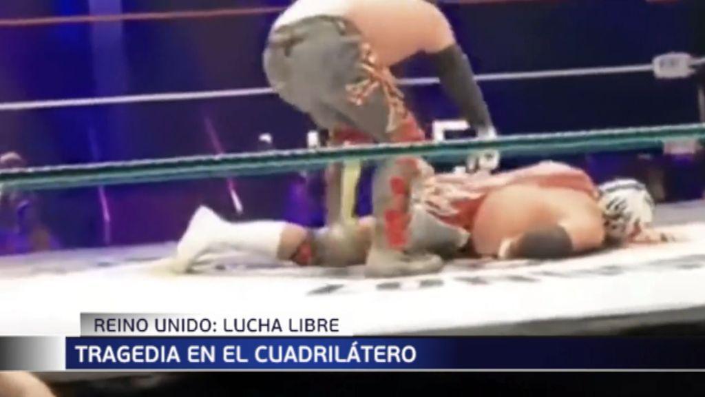 Un luchador mexicano muere en pleno combate en Londres