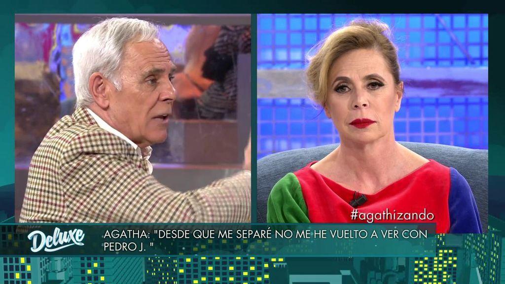 "Agatha: ""Me enteré del escándalo sexual de Pedro Jota, porque me enviaron a casa una ensaimada con el vídeo dentro"""