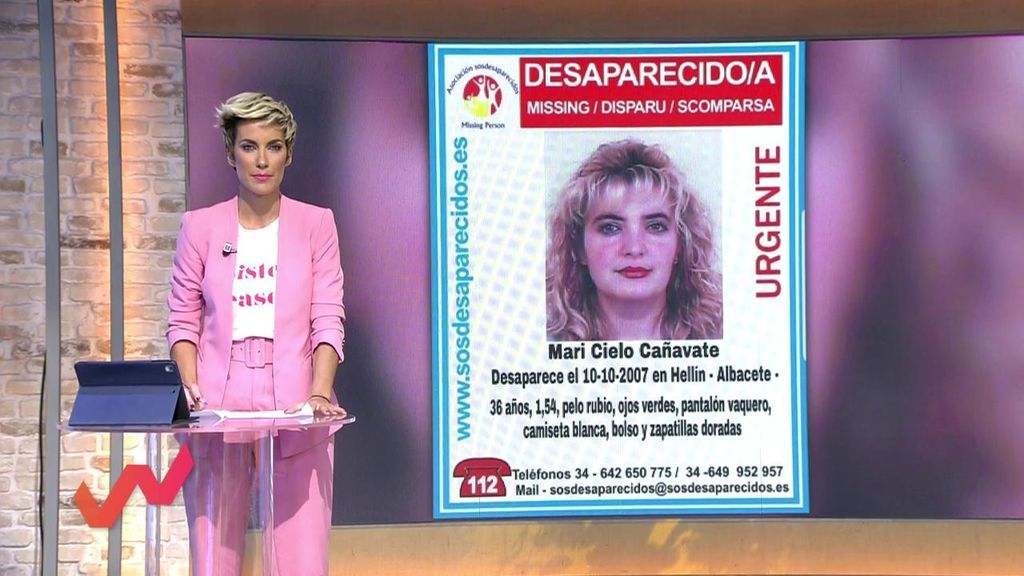 Mari Cielo Cañavate, desaparecida desde 2007: Nunca se hizo una búsqueda con dispositivo