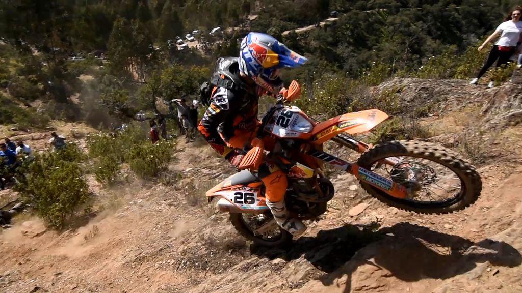 El campeón del Mundo de Enduro 2, Josep García, invitado en Locos por las motos