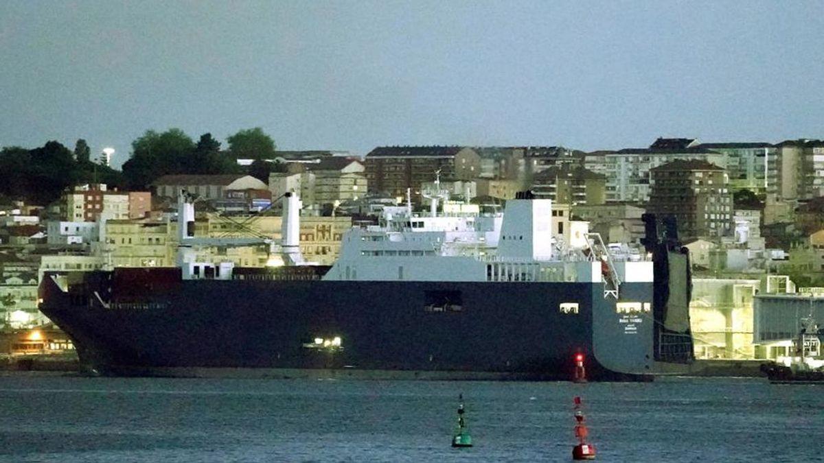 Atraca en Santander un barco saudí al que una ONG impidió que cargara armas en Francia