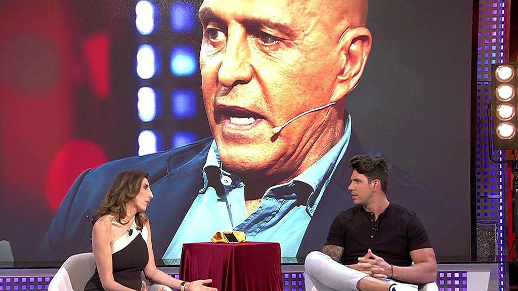 Diego Matamoros afirma que su padre debe 25.000€ a su hermana Laura