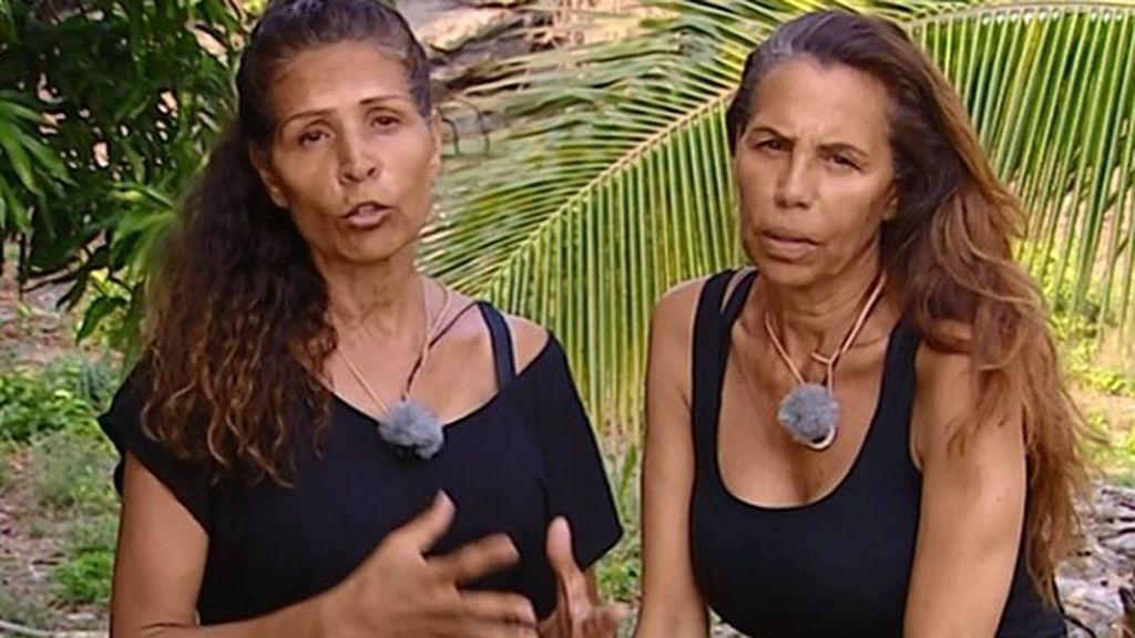 Los motivos del distanciamiento de las 'Azúcar Moreno', en 'Cazamariposas'