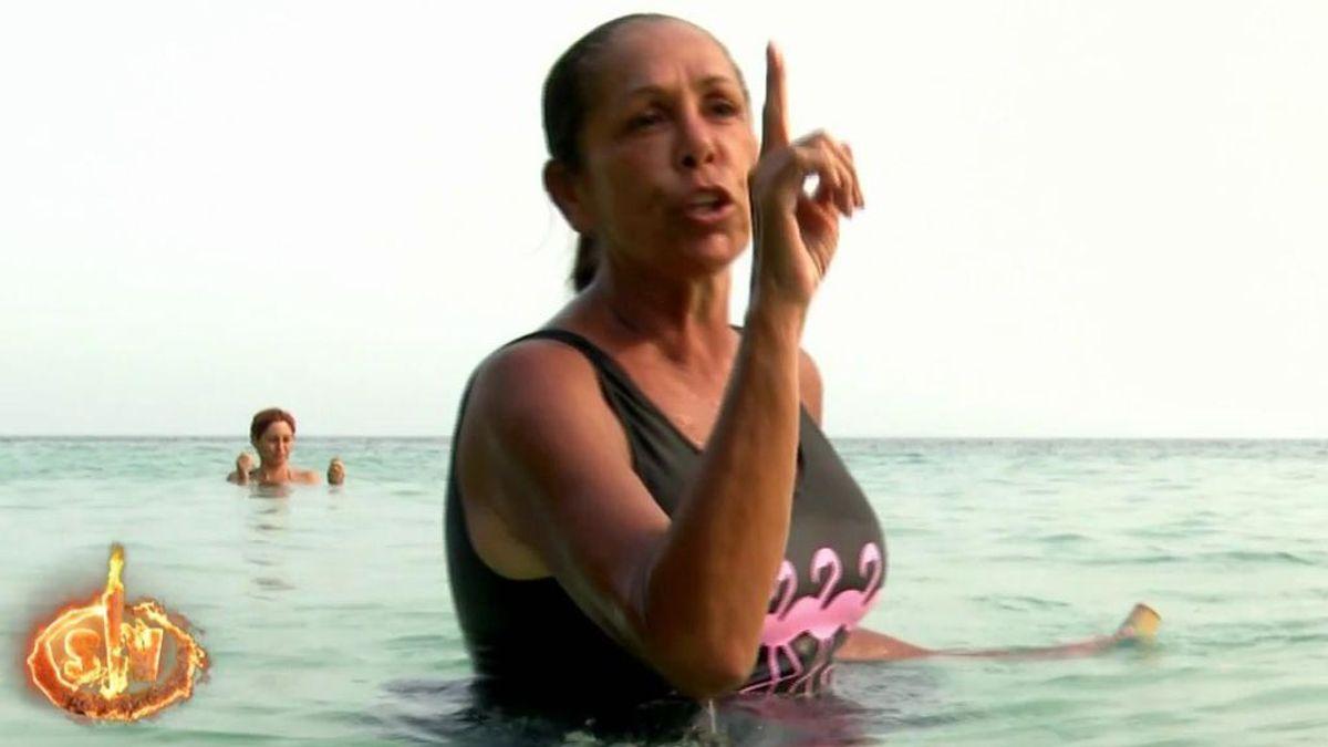 """Isabel Pantoja le canta las cuarenta a Omar Montes: """"Tú eres conocido por mi hija"""""""