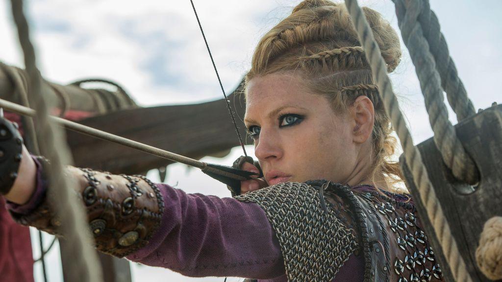 El increíble entreno físico de Katheryn Winnick, la actriz que interpreta a Lagertha en Vikingos