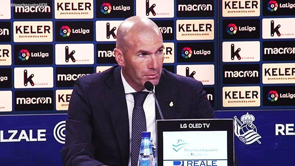 """Zidane arroja más dudas sobre el futuro de Gareth Bale: """"Ya veremos el próximo año, lo que queremos es jugar al fútbol"""""""